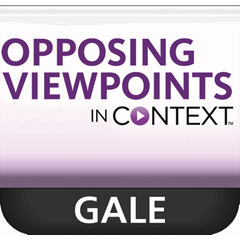 opposing viewpoints in context database essay Responding to opposing viewpoints and refutation writing purdue owl's overview of writing a rebuttal section in an essay university of pittsburgh's four-step process to refuting an opposing viewpoint.